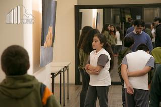 Visita Taller de Arte Colegio SAH