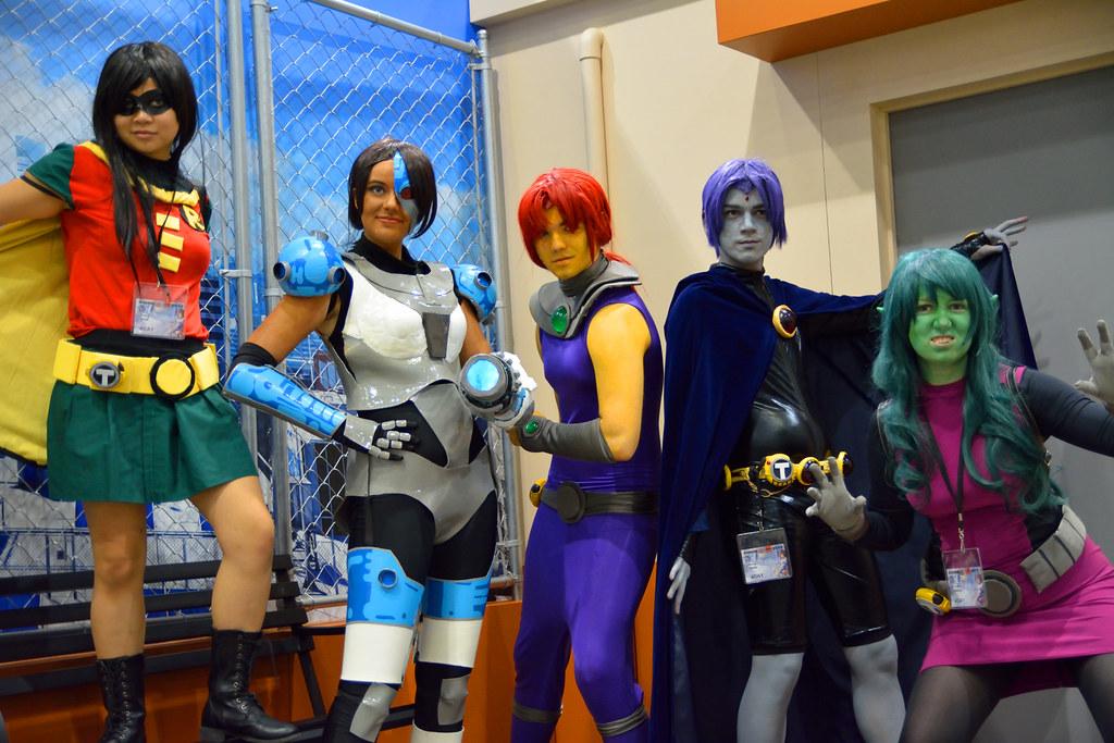 Teen titans girl robin costume 6