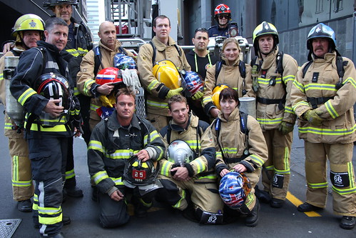 US/NZ Firefighters commemorate 13th anniversary of 9/11, A ...