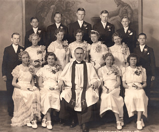 Trinity Lutheran Detroit: Confirmation Class of 1937 | by barbwebb