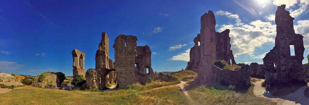 """Castillo de Corfe - La Bruja Novata - Inglaterra castillo de corfe - 32022199874 f039396160 b - Escenarios de """"La Bruja Novata"""" – Castillo de Corfe"""