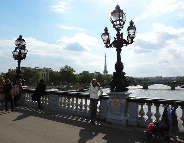 Paris Photo Essay: Pont Alexandre III bridge, Paris, France