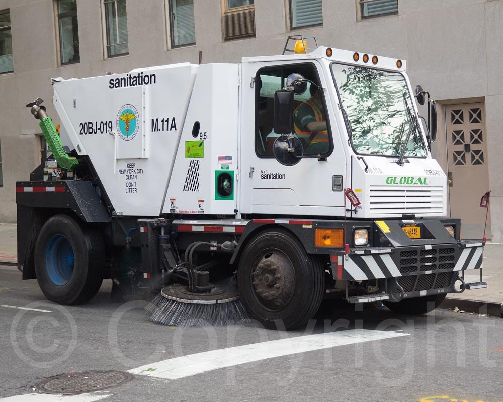 Sanitation Street Sweeper Truck GermanAmerican Steu Flickr - Nyc street sweeping map