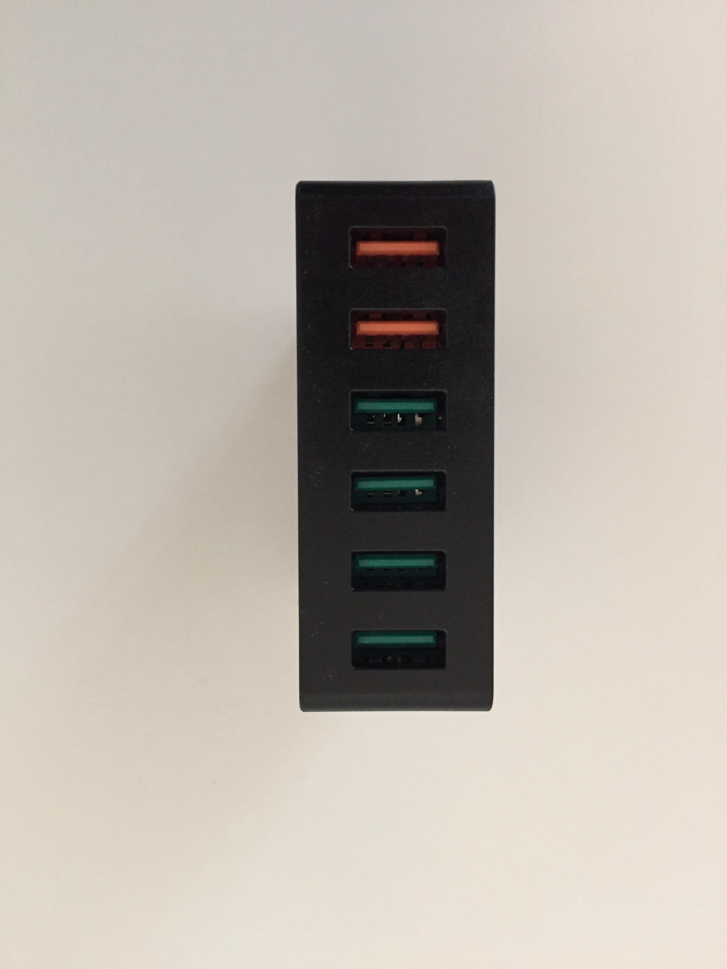 20170224 Chargeur secteur 6 ports USB Aukey avec Quick Charge 3.0 6