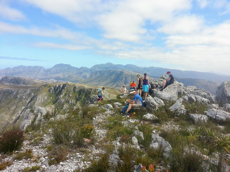 MCSA party on Perdeberg Peak