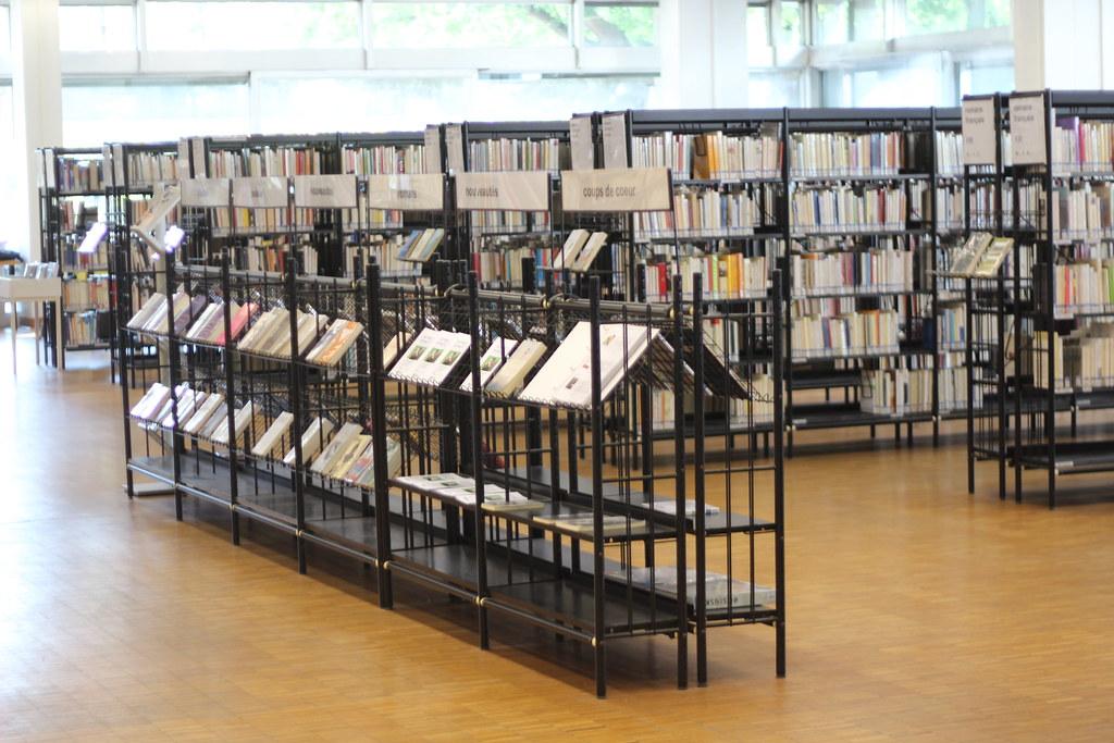 Bibliothèque municipale de Lyon (Part Dieu)