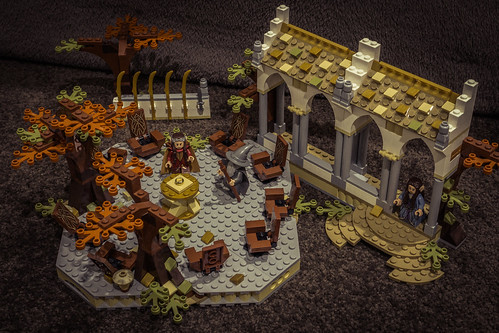 LEGO LotR Council of Elrond MOC/MOD (79006) | by Adam Purves (S3ISOR)