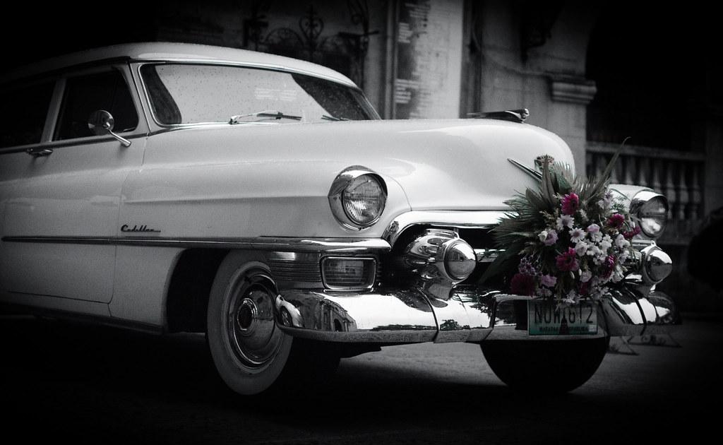 Vintage Bridal Car   Conrocko Quimpo   Flickr
