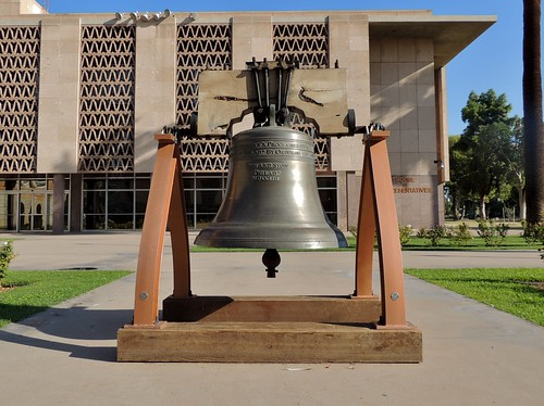 Liberty Bell Replica, State Capitol, Phoenix, Arizona (AZ) | by bobindrums