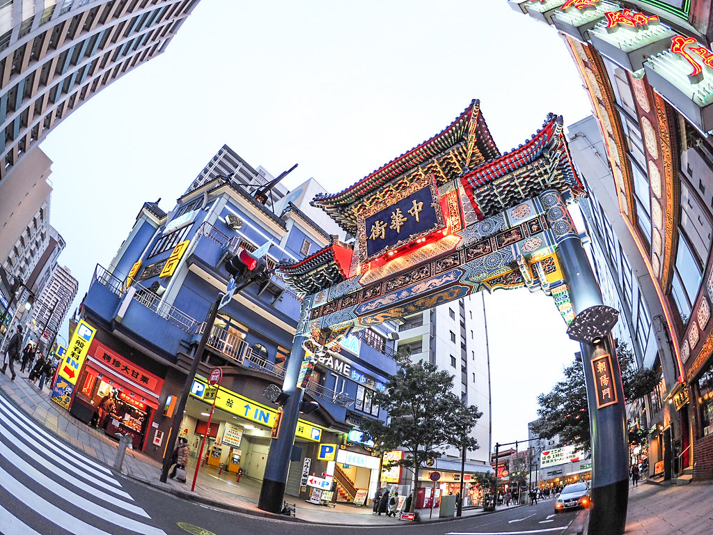 中華街東門   Chinatown East Gate