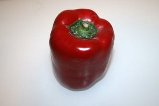 17 - Zutat rote Paprika / Ingredient red bell pepper