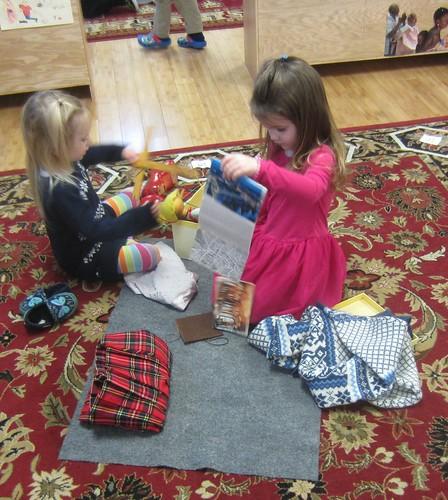 examining the Europe box items