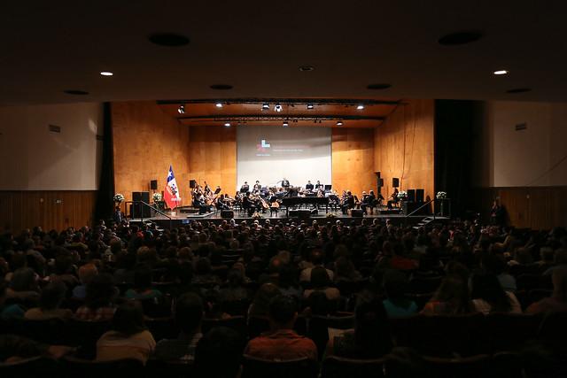 Concierto Orquesta de Cámara de Chile, ONU Mujeres