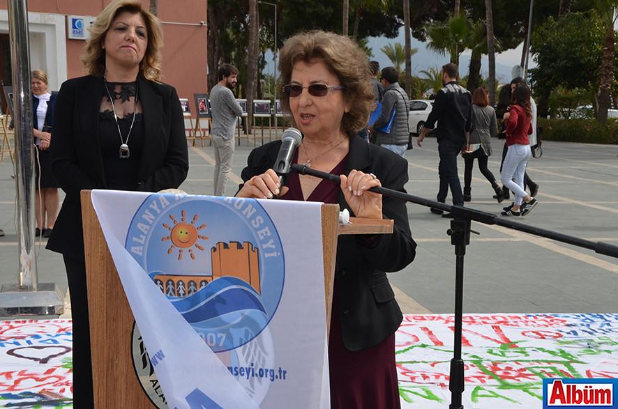 Alanya Kent Konseyi Kadın Meclisi Başkanı Ümran Aykut