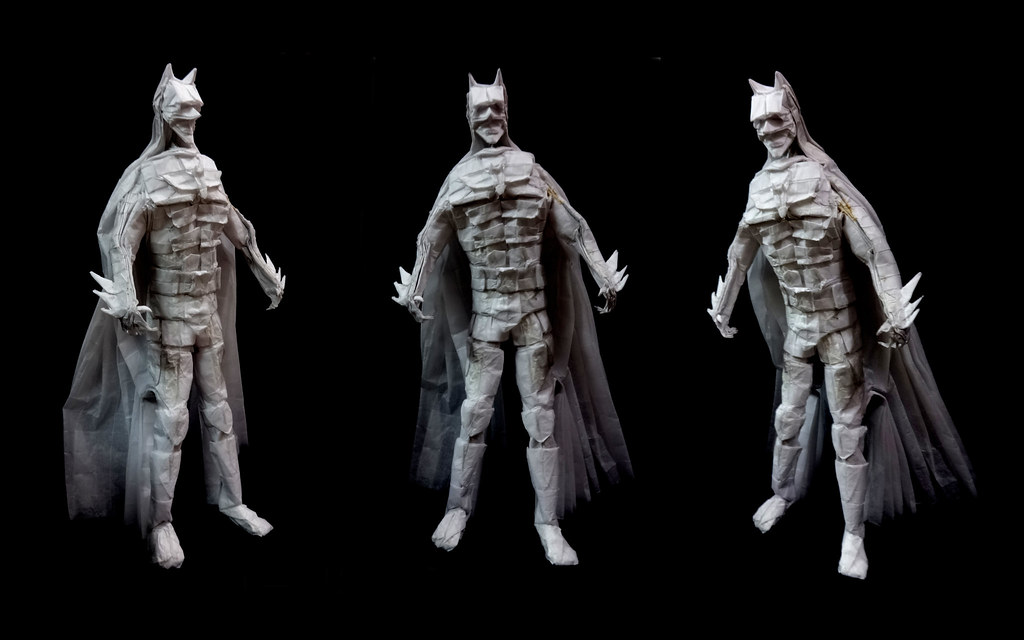Origami Batmandark Knight Final Designed And Folded By Flickr