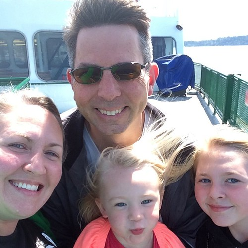 Family ferry windblown selfie. | by bethany actually