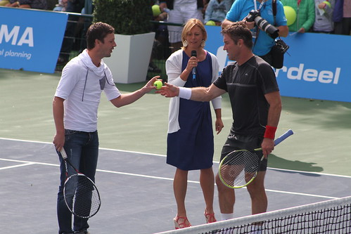 Sabine Appelmans and Pat Cash | by tennis buzz