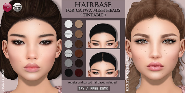 Catwa Hairbase (Skin Fair)