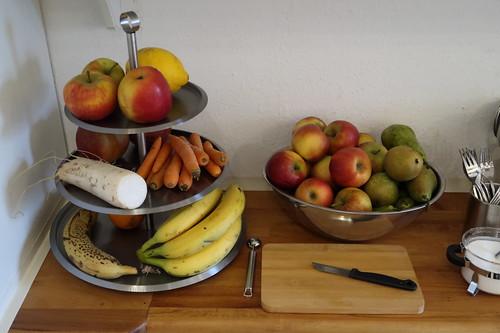 Obst- und Gemüse-Angebot