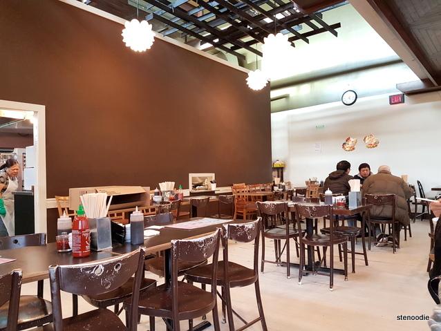 Green Lemon Grass South East Asian Cuisine interior