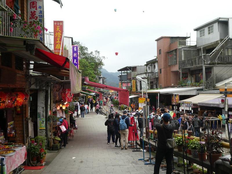 Shifen main street, Taipei