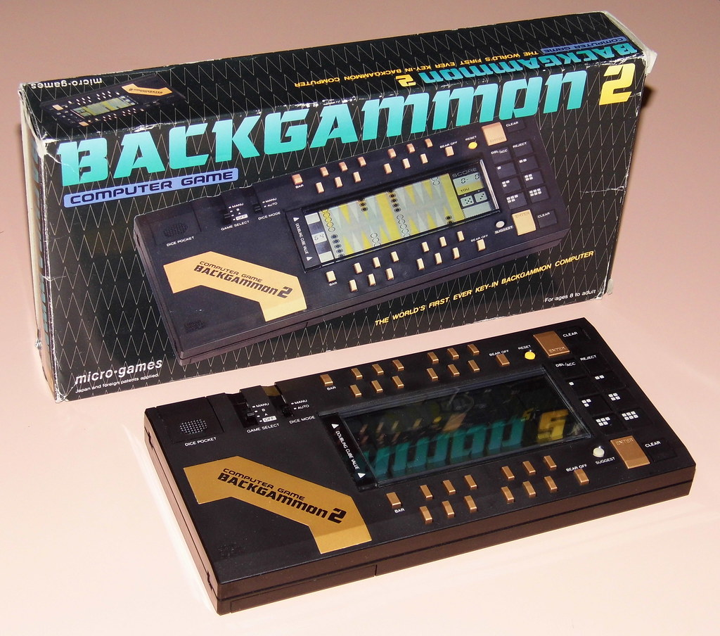 Vintage Backgammon 2 Electronic Game By Micro Games Made Flickr Circuit In Japan A Good Quality