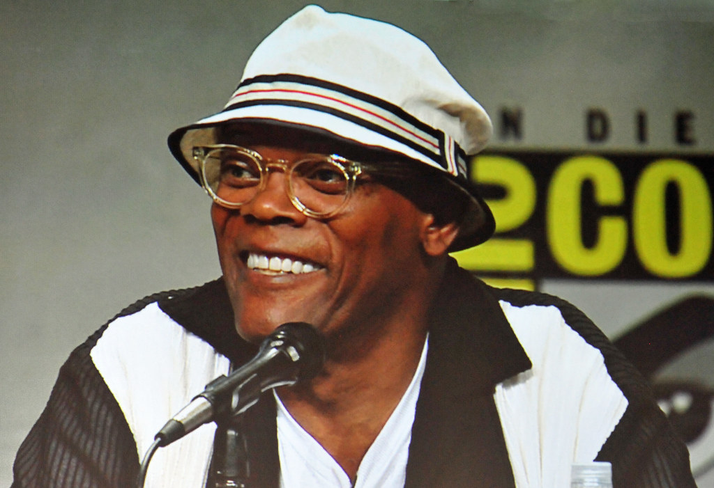 Kingsman: The Secret Service panel - Samuel L. Jackson