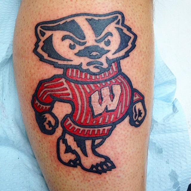 Bucky Badger Tattoo Www Tatsbyhoss Com Ift Tt 1xw55wh Tatsbyhoss