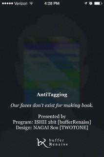 AntiTagging, an app that auto detects faces, then glitches them out. | by docpop