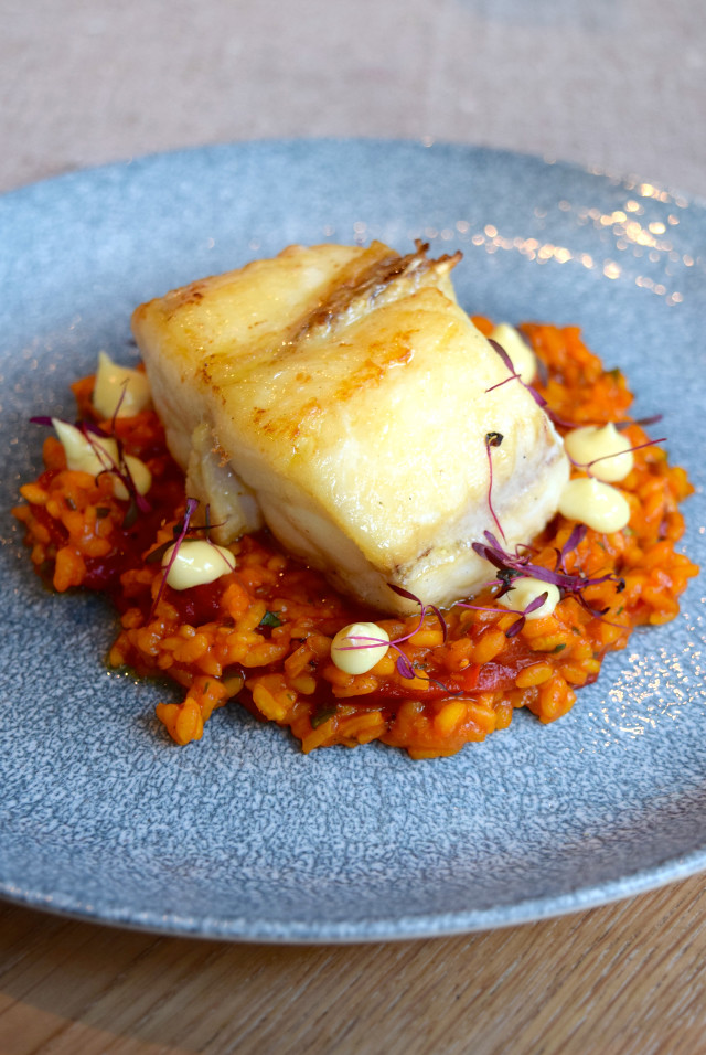 Monkfish at The Wife of Bath, Wye | www.rachelphipps.com @rachelphipps