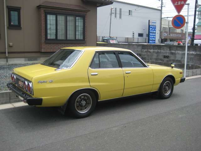 1978 Nissan Skyline 2000gt Ex Sedan C210 Yellow 18 Flickr