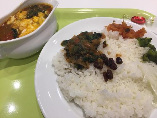 インド式カレー 夢民 ポパイカレー