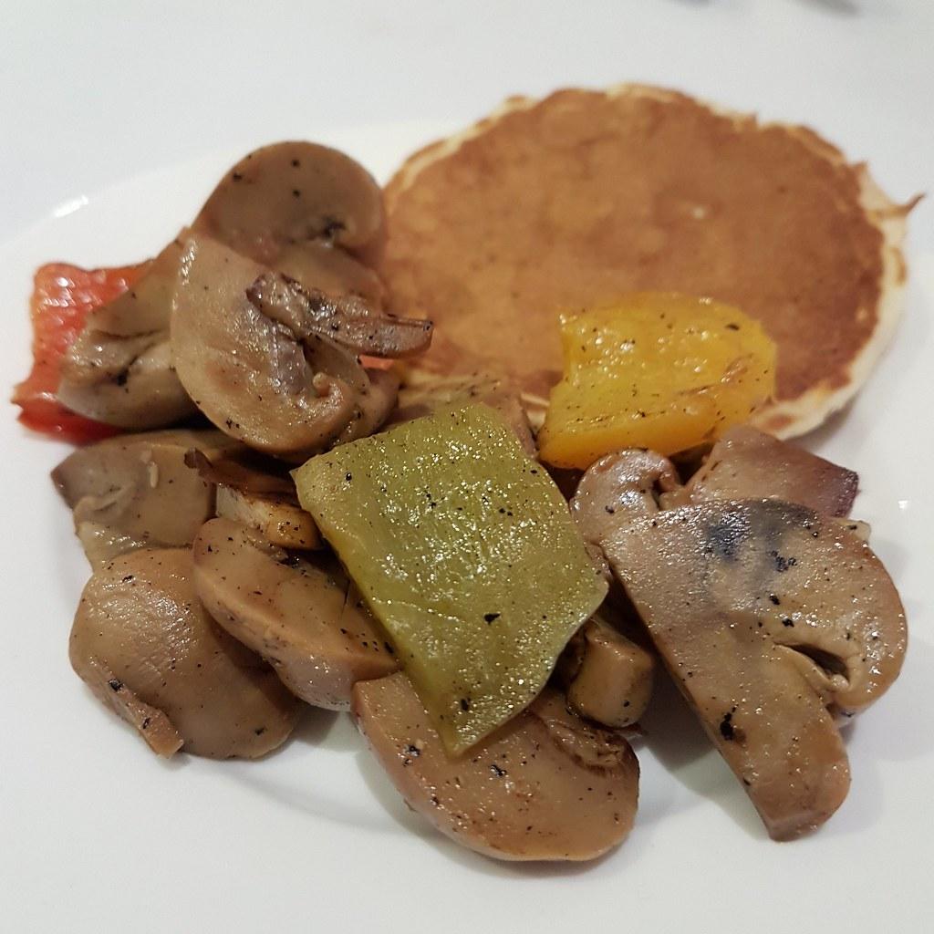 Sauteed mushroom, Breakfast @ Al Safir Hotel, Bahrain