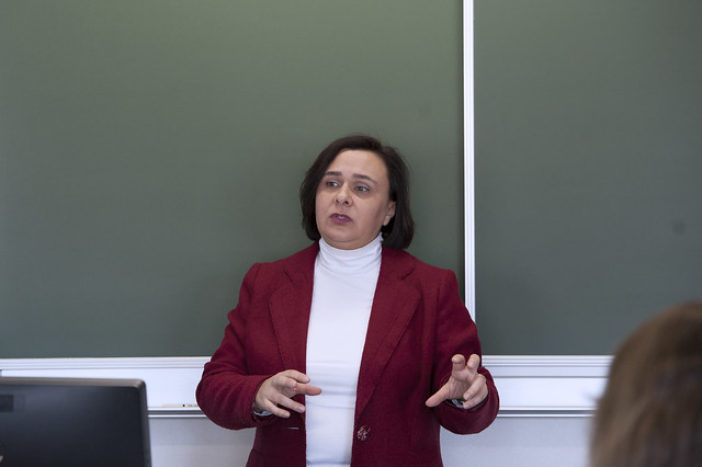 "Guest lecture by Prof. Özlem TERZI: ""Who Represents 'Europe'? Disentangling European Diplomatic Representation in Crises Abroad"".17 March 2017"