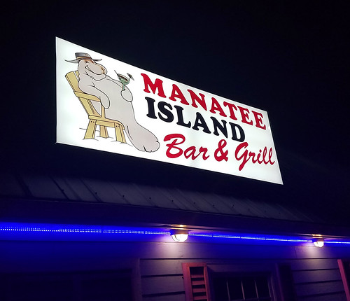 manatee martini