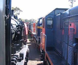 Railway Museum, Williamstown (March 2007) | by Daniel Bowen