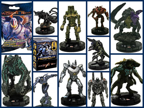 Pacific rim heroclix toywiz with jd bebs the dynamic duo pacific rim heroclix by toywiz voltagebd Choice Image