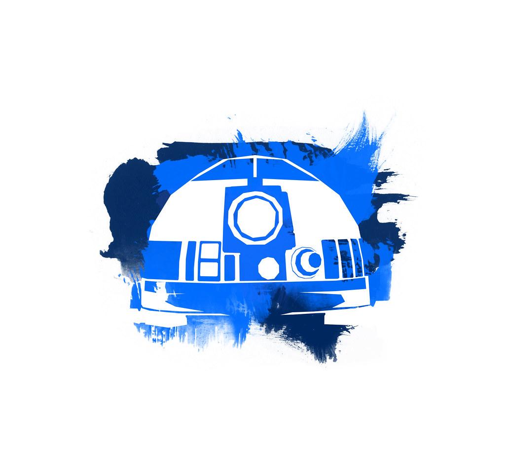 R2d2 Starwars Space Gfx Wallpaper