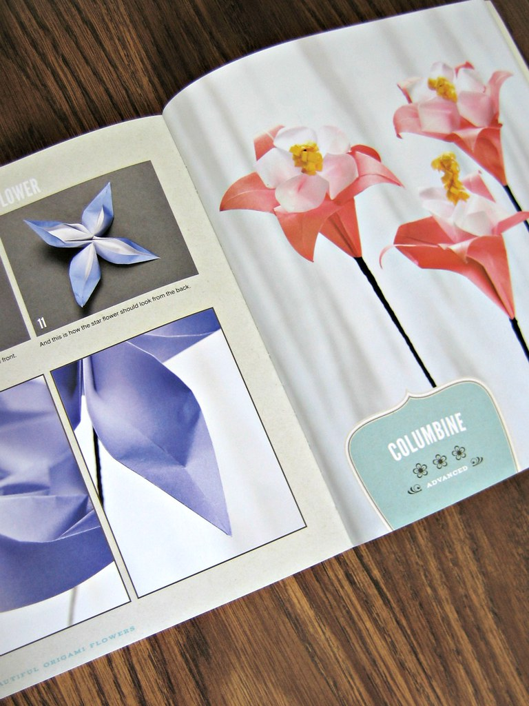Beautiful Origami Flowers Sample Pages A Paper Craft Boo Flickr