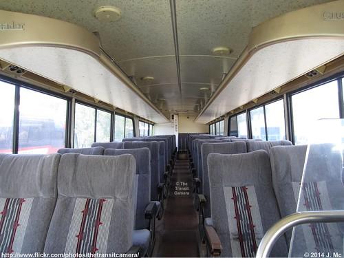 greyhound lines mc8 interior