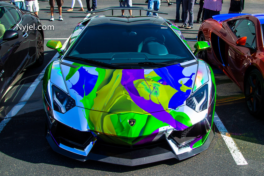 Tron-like Lamborghini that &#39-glows in the dark&#39- is seized after ...