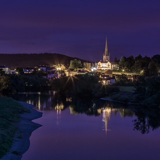 last-remaining-light-at-Ross-on-Wye | by singingsnapper