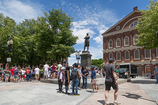 Samuel Adams Statue, Faneuil Hall - Boston | by Massachusetts Office of Travel & Tourism