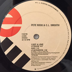PETE ROCK & C.L. SMOOTH(LABEL SIDE-A)