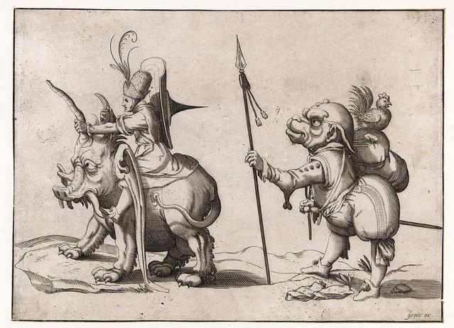 008- Dibujos grotescos - Arent van Bolten- Rijksmuseum