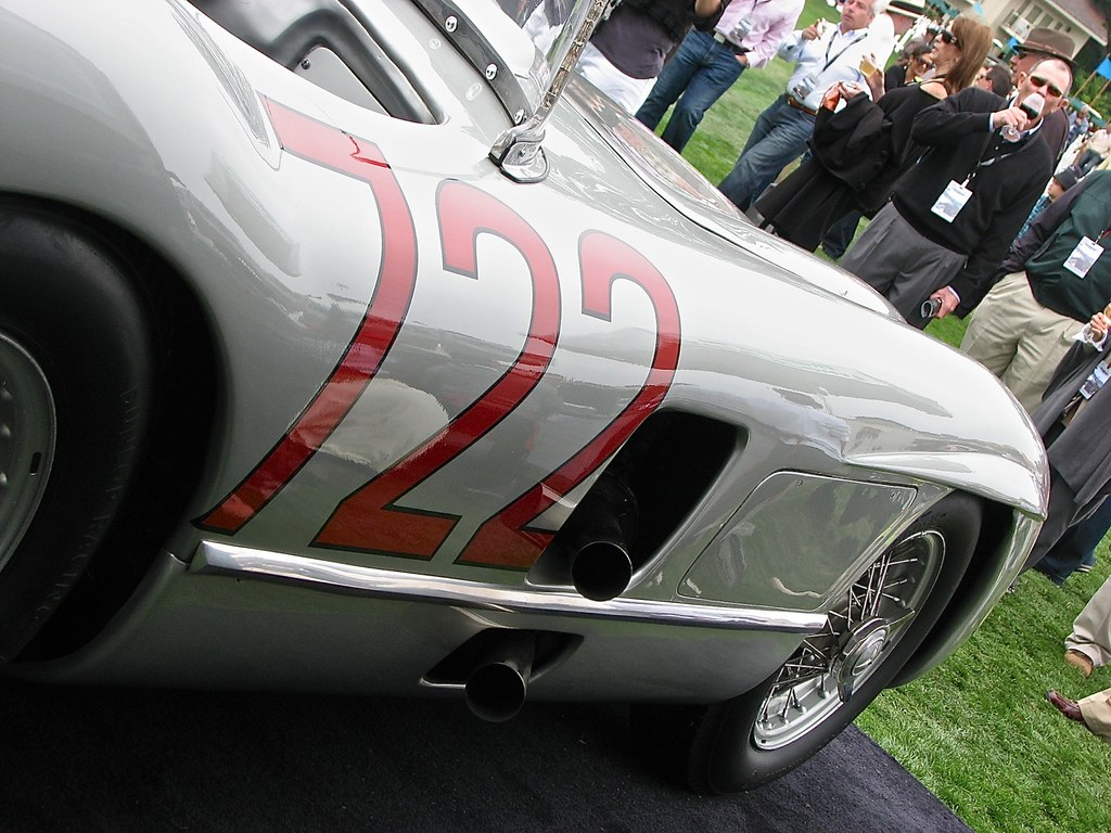Mercedes 300 SLR 722 Pebble Beach 1