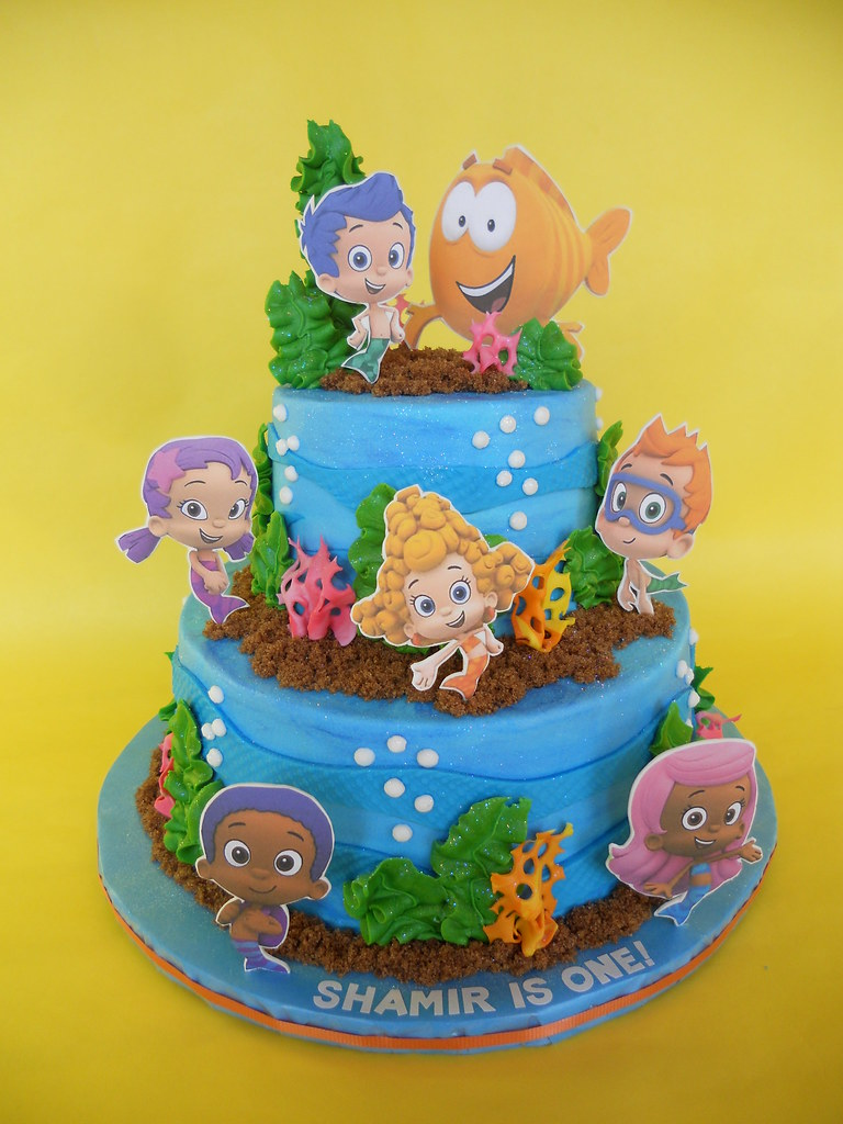 Bubble Guppies Birthday Cake Amy Stella Flickr