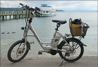 the e-bike visits the Lake Starnberg | by mhobl