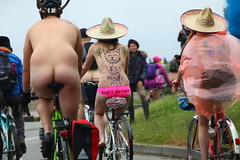 World Naked Bike Ride 2014