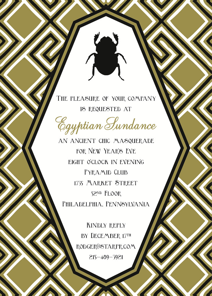 Egyptian sundance new years eve invitation an ancient chi flickr egyptian sundance new years eve invitation by maddieandmarry gumiabroncs Image collections